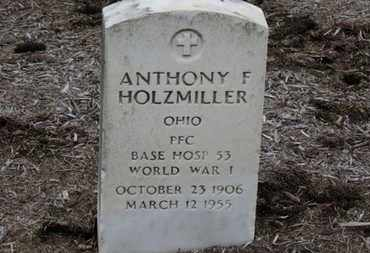 HOLZMILLER, ANTHONY F. - Erie County, Ohio | ANTHONY F. HOLZMILLER - Ohio Gravestone Photos