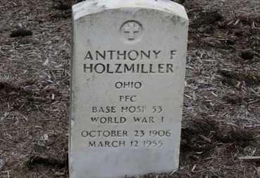 HOLZMILLER, ANTHONY F. - Erie County, Ohio   ANTHONY F. HOLZMILLER - Ohio Gravestone Photos