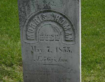 HOMAN, MORRIS - Erie County, Ohio | MORRIS HOMAN - Ohio Gravestone Photos