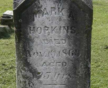 HOPKINS, MARK A. - Erie County, Ohio | MARK A. HOPKINS - Ohio Gravestone Photos