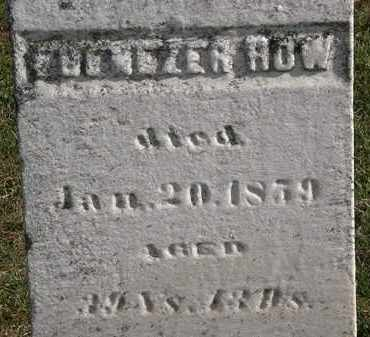 HOW, EBENEZER - Erie County, Ohio | EBENEZER HOW - Ohio Gravestone Photos