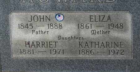HOWARD, KATHARINE - Erie County, Ohio | KATHARINE HOWARD - Ohio Gravestone Photos