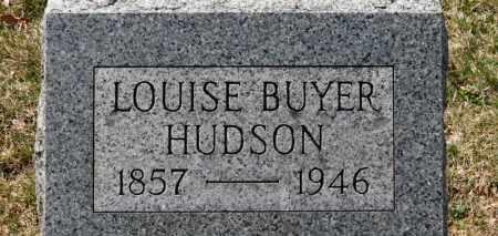 BUYER HUDSON, LOUISE - Erie County, Ohio | LOUISE BUYER HUDSON - Ohio Gravestone Photos