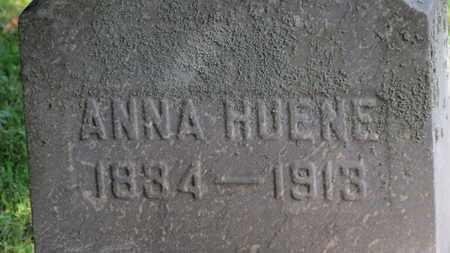 HUENE, ANNA - Erie County, Ohio | ANNA HUENE - Ohio Gravestone Photos