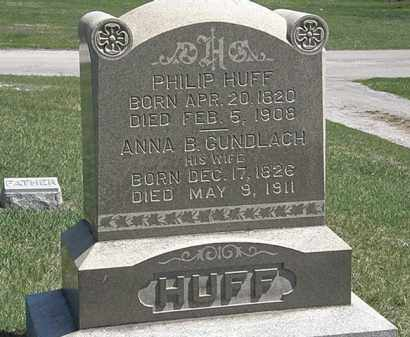 HUFF, PHILLIP - Erie County, Ohio | PHILLIP HUFF - Ohio Gravestone Photos