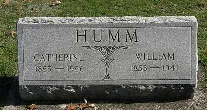 HUMM, WILLIAM - Erie County, Ohio | WILLIAM HUMM - Ohio Gravestone Photos