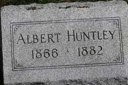 HUNTLEY, ALBERT - Erie County, Ohio | ALBERT HUNTLEY - Ohio Gravestone Photos