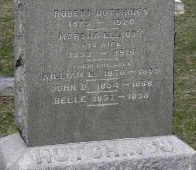 HUTCHINGS, BEELE - Erie County, Ohio | BEELE HUTCHINGS - Ohio Gravestone Photos