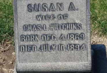 HUTCHINS, SUSAN A. - Erie County, Ohio | SUSAN A. HUTCHINS - Ohio Gravestone Photos