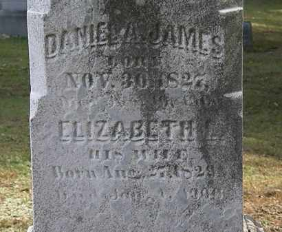 JAMES, DANIEL A. - Erie County, Ohio | DANIEL A. JAMES - Ohio Gravestone Photos