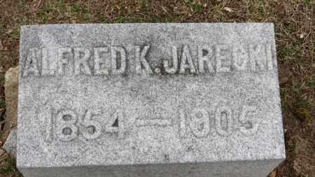 JARECKI, ALFRED K. - Erie County, Ohio | ALFRED K. JARECKI - Ohio Gravestone Photos