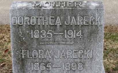 JARECKI, FLORA - Erie County, Ohio | FLORA JARECKI - Ohio Gravestone Photos