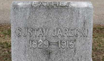 JARECKI, GUSTAV - Erie County, Ohio | GUSTAV JARECKI - Ohio Gravestone Photos