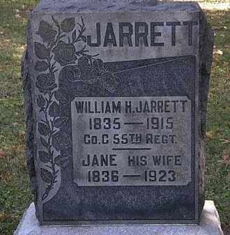 JARRETT, WILLIAM H. - Erie County, Ohio | WILLIAM H. JARRETT - Ohio Gravestone Photos