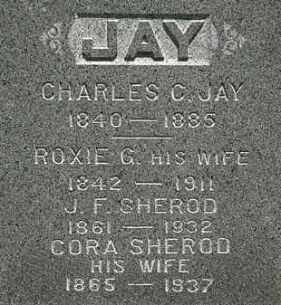 JAY SHEROD, CORA - Erie County, Ohio | CORA JAY SHEROD - Ohio Gravestone Photos