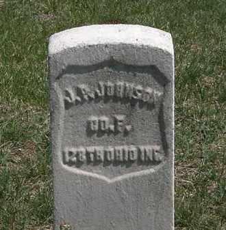 JOHNSON, J.P. - Erie County, Ohio | J.P. JOHNSON - Ohio Gravestone Photos