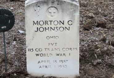 JOHNSON, MORTON C. - Erie County, Ohio | MORTON C. JOHNSON - Ohio Gravestone Photos