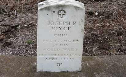 JOYCE, JOSEPH P. - Erie County, Ohio   JOSEPH P. JOYCE - Ohio Gravestone Photos