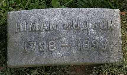 JUDSON, HIMAN - Erie County, Ohio | HIMAN JUDSON - Ohio Gravestone Photos