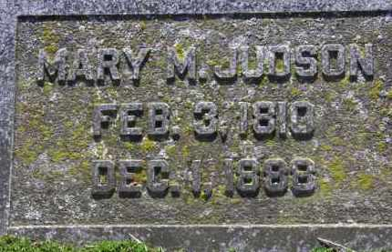 JUDSON, MARY M. - Erie County, Ohio | MARY M. JUDSON - Ohio Gravestone Photos