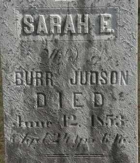 JUDSON, BURR - Erie County, Ohio | BURR JUDSON - Ohio Gravestone Photos
