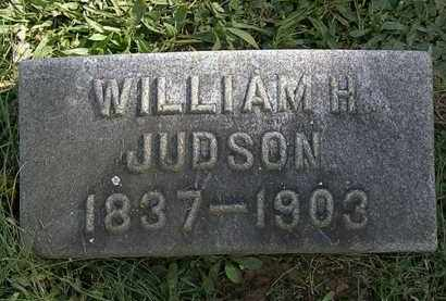 JUDSON, WILLIAM H. - Erie County, Ohio | WILLIAM H. JUDSON - Ohio Gravestone Photos