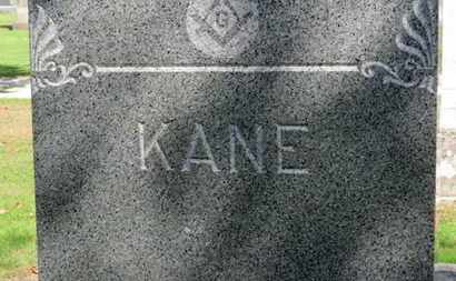 KANE, FAMILY MARKER - Erie County, Ohio | FAMILY MARKER KANE - Ohio Gravestone Photos