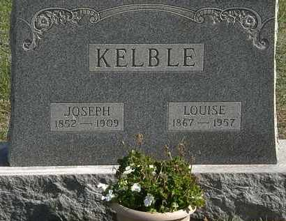 KELBLE, LOUISE - Erie County, Ohio | LOUISE KELBLE - Ohio Gravestone Photos