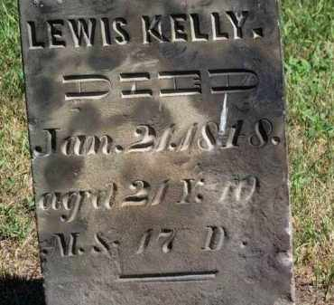 KELLY, LEWIS - Erie County, Ohio | LEWIS KELLY - Ohio Gravestone Photos