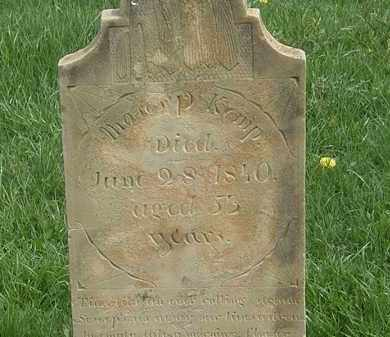 KEMP, MOSES P. - Erie County, Ohio | MOSES P. KEMP - Ohio Gravestone Photos
