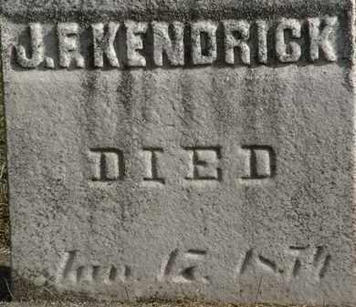 KENDRICK, J.F. - Erie County, Ohio | J.F. KENDRICK - Ohio Gravestone Photos