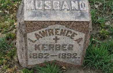 KERBER, LAWRENCE - Erie County, Ohio | LAWRENCE KERBER - Ohio Gravestone Photos