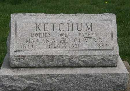 KETCHUM, OLIVER  C. - Erie County, Ohio | OLIVER  C. KETCHUM - Ohio Gravestone Photos