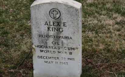 KING, ALEX E. - Erie County, Ohio | ALEX E. KING - Ohio Gravestone Photos