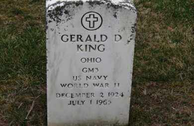 KING, GERALD D. - Erie County, Ohio | GERALD D. KING - Ohio Gravestone Photos