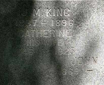 KING, CATHERINE - Erie County, Ohio | CATHERINE KING - Ohio Gravestone Photos