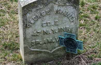 KINNEY, GEORGE - Erie County, Ohio | GEORGE KINNEY - Ohio Gravestone Photos
