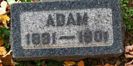 KISHMAN, ADAM - Erie County, Ohio | ADAM KISHMAN - Ohio Gravestone Photos