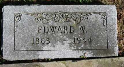 KISHMAN, EDWARD W. - Erie County, Ohio | EDWARD W. KISHMAN - Ohio Gravestone Photos