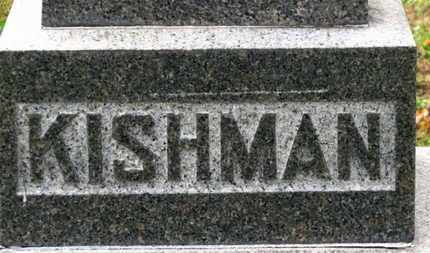 KISHMAN, FAMILY MARKER - Erie County, Ohio | FAMILY MARKER KISHMAN - Ohio Gravestone Photos