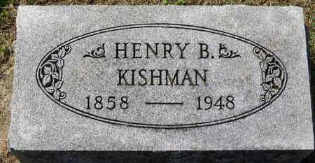 KISHMAN, HENRY B. - Erie County, Ohio | HENRY B. KISHMAN - Ohio Gravestone Photos