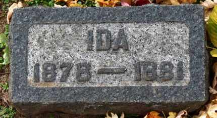 KISHMAN, IDA - Erie County, Ohio | IDA KISHMAN - Ohio Gravestone Photos