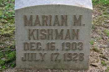 KISHMAN, MARIAN M. - Erie County, Ohio | MARIAN M. KISHMAN - Ohio Gravestone Photos