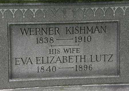 KISHMAN, WERNER - Erie County, Ohio | WERNER KISHMAN - Ohio Gravestone Photos