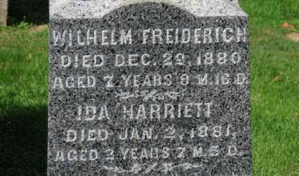 KISHMAN, IDA HARRIETT - Erie County, Ohio | IDA HARRIETT KISHMAN - Ohio Gravestone Photos