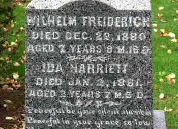 KISHMAN, WILHELM FREDERICH - Erie County, Ohio | WILHELM FREDERICH KISHMAN - Ohio Gravestone Photos