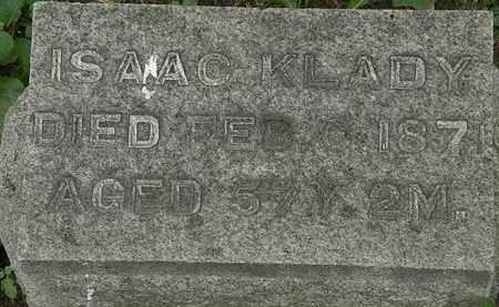 KLADY, ISAAC - Erie County, Ohio | ISAAC KLADY - Ohio Gravestone Photos