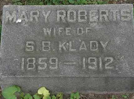 KLADY, MARY - Erie County, Ohio | MARY KLADY - Ohio Gravestone Photos