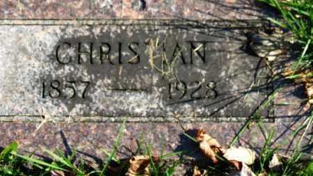 KLEIN, CHRISTIAN - Erie County, Ohio | CHRISTIAN KLEIN - Ohio Gravestone Photos