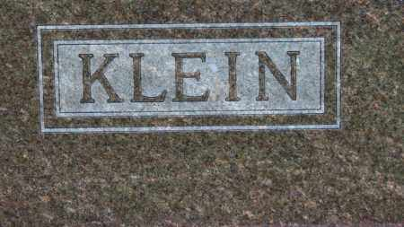 KLEIN, FAMILY MARKER - Erie County, Ohio | FAMILY MARKER KLEIN - Ohio Gravestone Photos